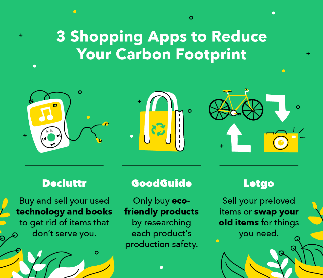 3 Shopping Apps to Reduce Your Carbon Footprint