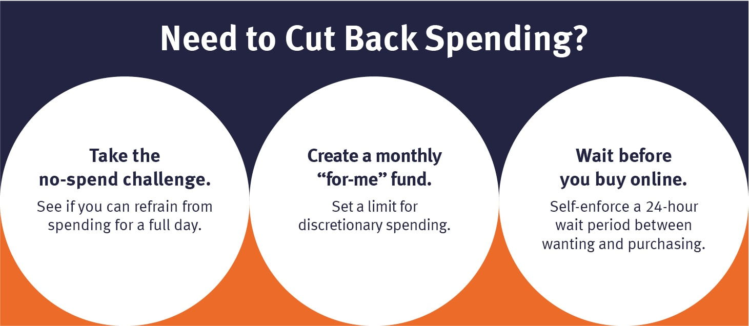 Saving money can be a good way to prepare for the end of your unemployment benefits.