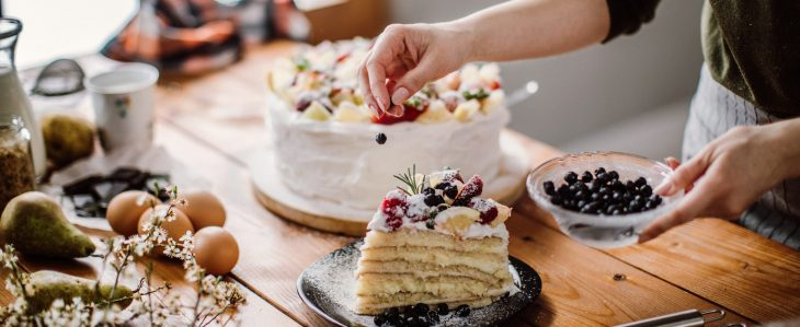 Keeping food simple is a great tip when you're trying to plan a bridal shower on a budget.