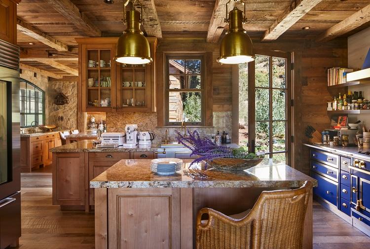 kitchen-luxury-mountain-retreat-in-aspen