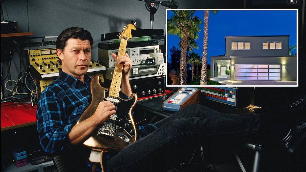 Robbie Robertson Beverly Hills Home